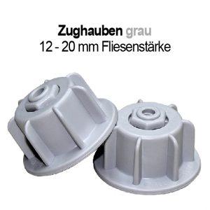 Fliesen-Verlegehilfe Nivelliersystem Zughauben grau