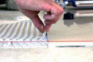Fliesen-Verlegehilfe Nivelliersystem